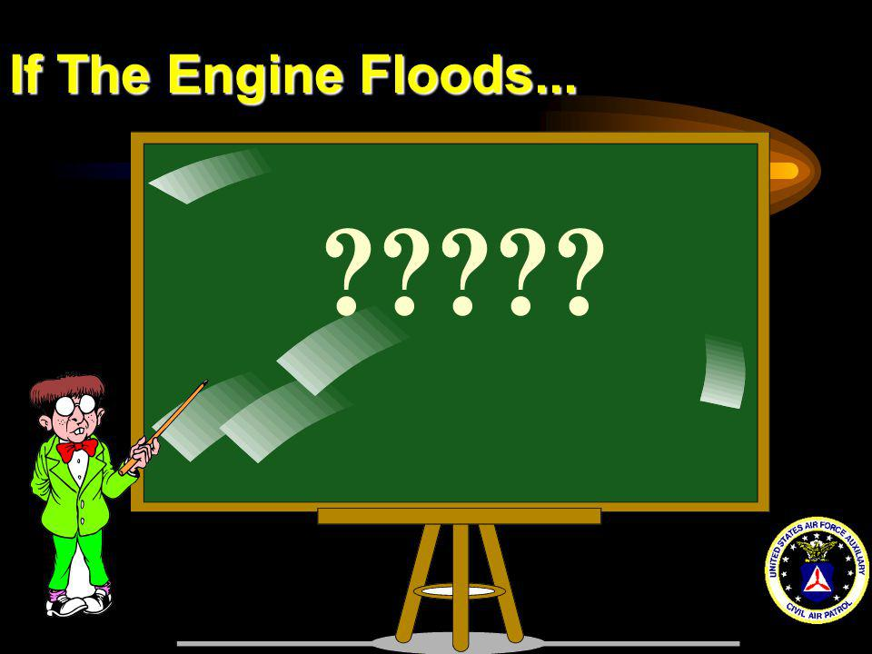 If The Engine Floods... ?????