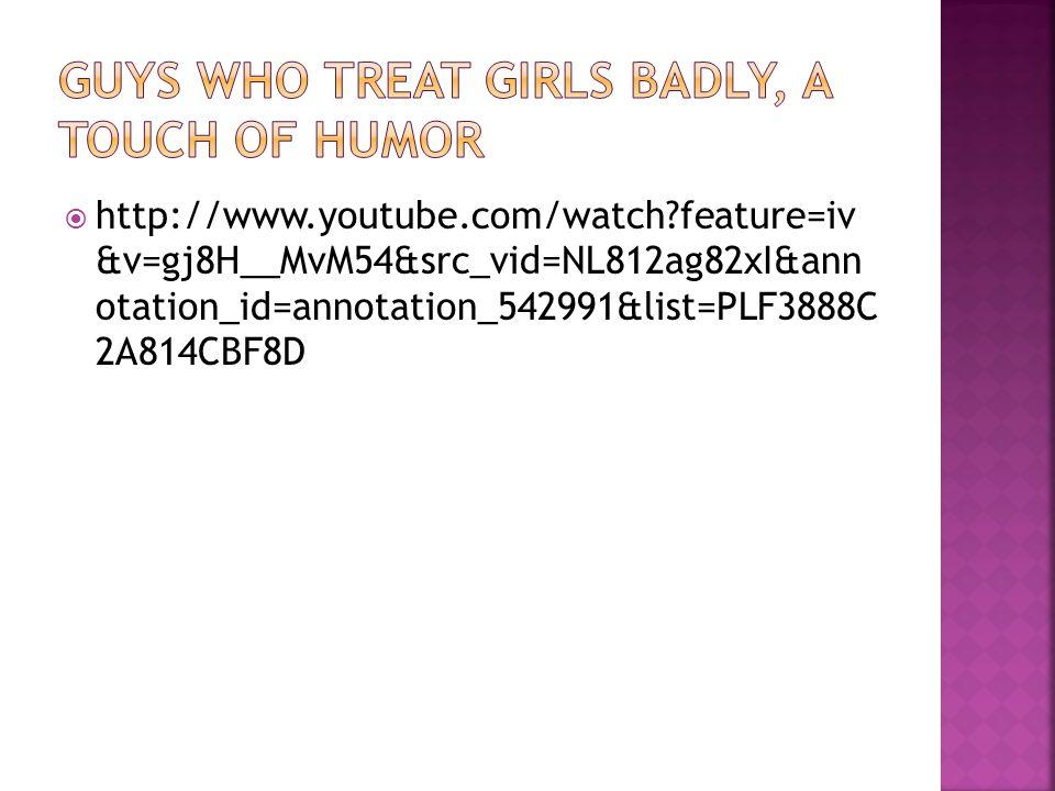 http://www.youtube.com/watch feature=iv &v=gj8H__MvM54&src_vid=NL812ag82xI&ann otation_id=annotation_542991&list=PLF3888C 2A814CBF8D