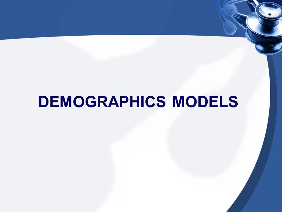 DEMOGRAPHICS MODELS