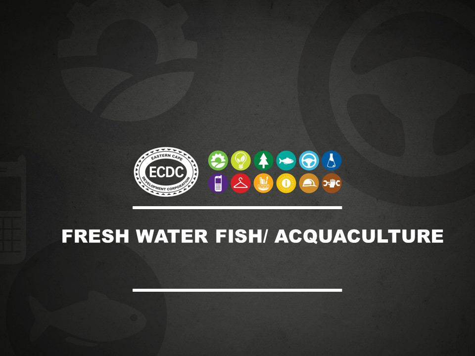 FRESH WATER FISH/ ACQUACULTURE