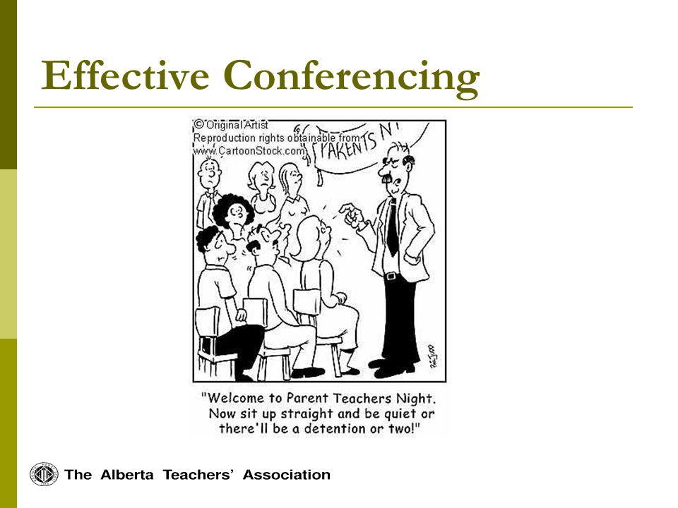 Effective Conferencing