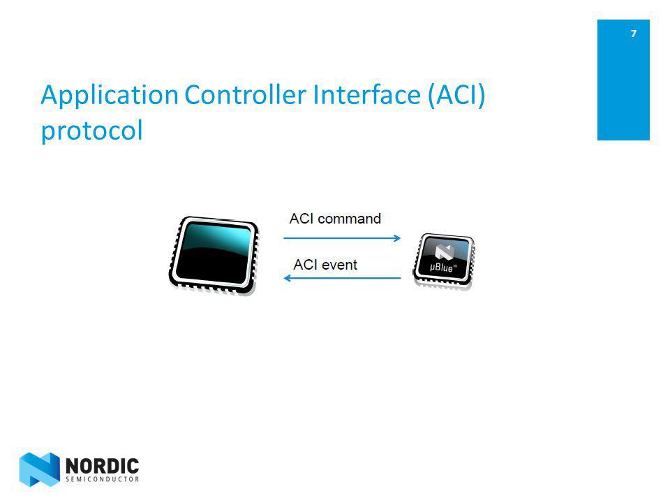 7 Application Controller Interface (ACI) protocol
