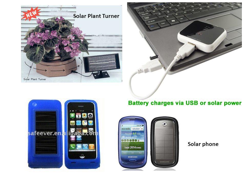 Solar Plant Turner Solar phone