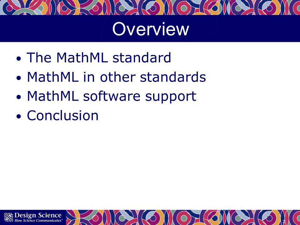 Tool Support SDKs MathFlow Components WIRIS Rendering engines MathJax MathFlow JEuclid 13
