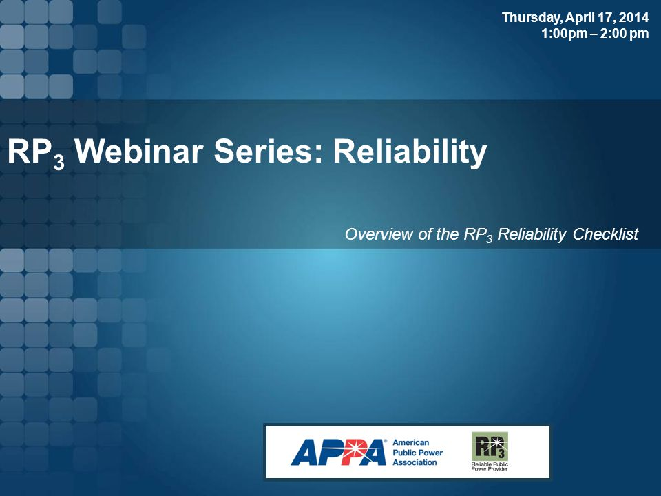 Presenters for this Webinar Neil James Manager Distribution Operations, Santee Cooper Rick Anderson Electric Systems Engineering Manager, Fayetteville Public Works Commission