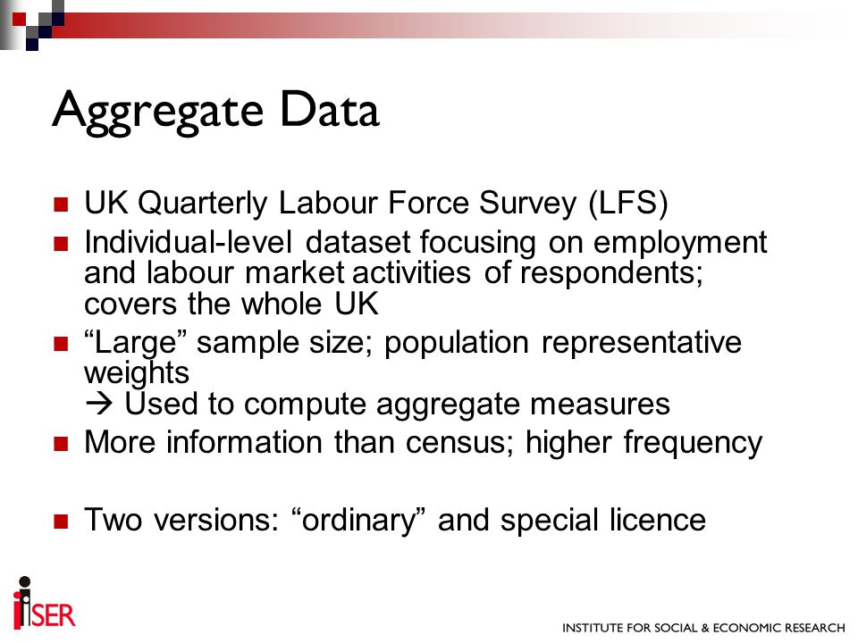 UK Quarterly Labour Force Survey (LFS) Individual-level dataset focusing on employment and labour market activities of respondents; covers the whole U