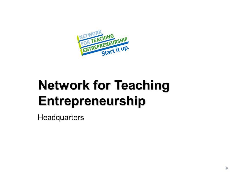 Network for Teaching Entrepreneurship Headquarters 0