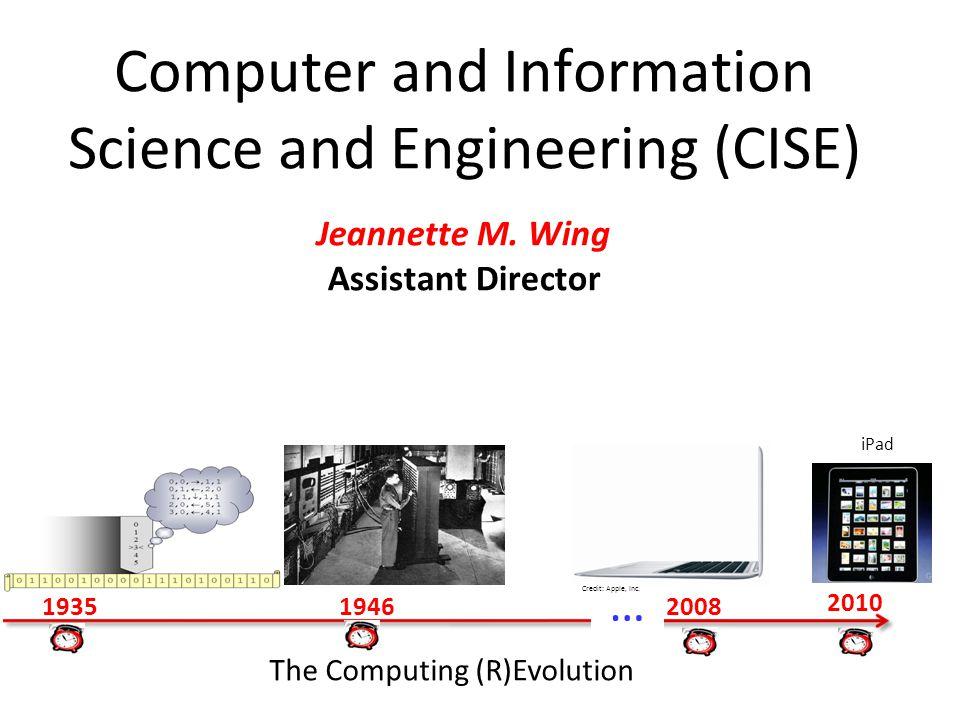 32CISE OverviewJeannette M.