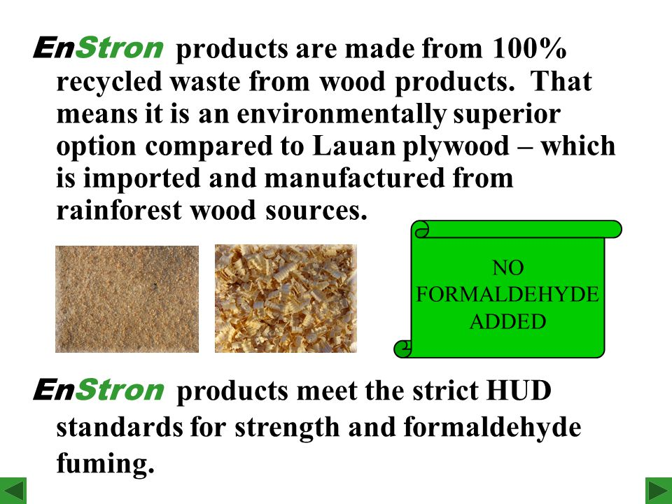 For High Humidity & Moisture Areas