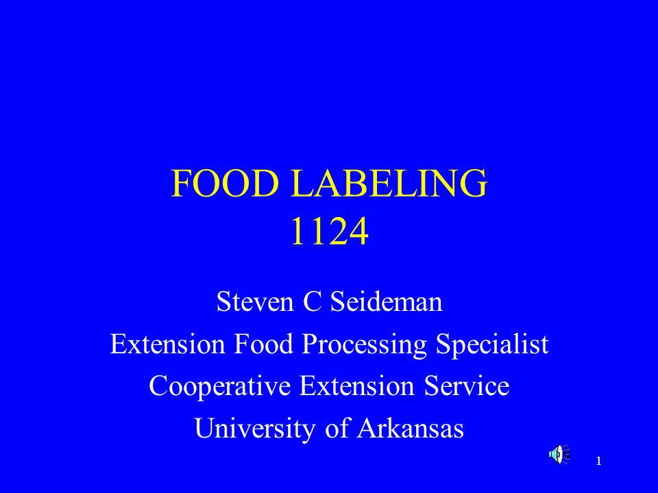 2 INTRODUCTION A FOOD LABEL has 2 important functions; 1)It tells the customer about the product in a positive manner.