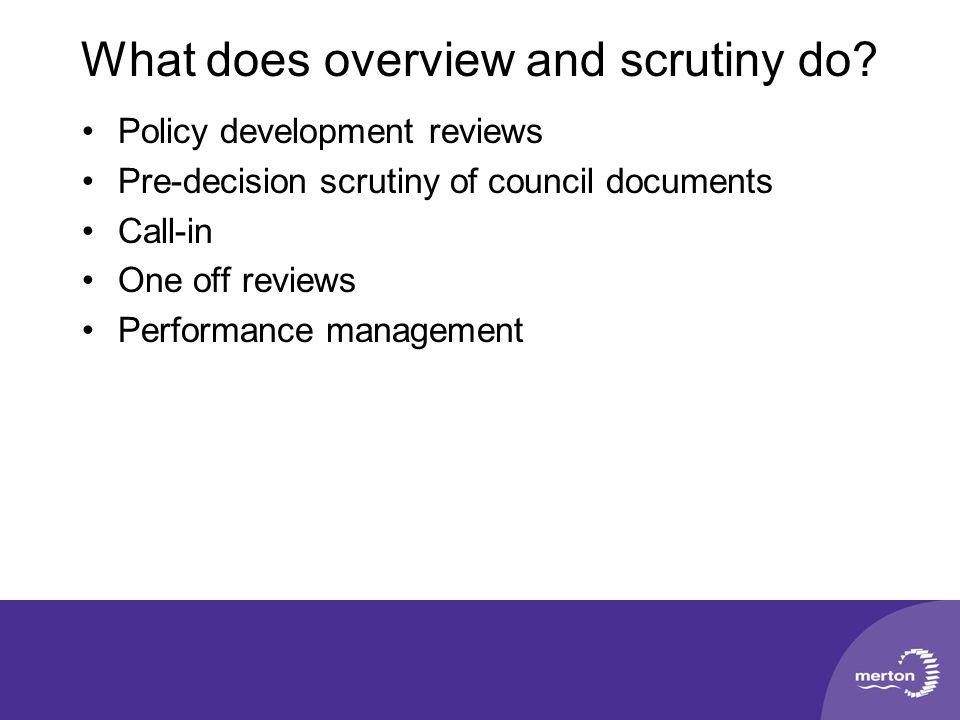 Questions? Scrutiny Team 9 Floor Civic Centre www.merton.gov.uk/scrutiny scrutiny@merton.gov.uk