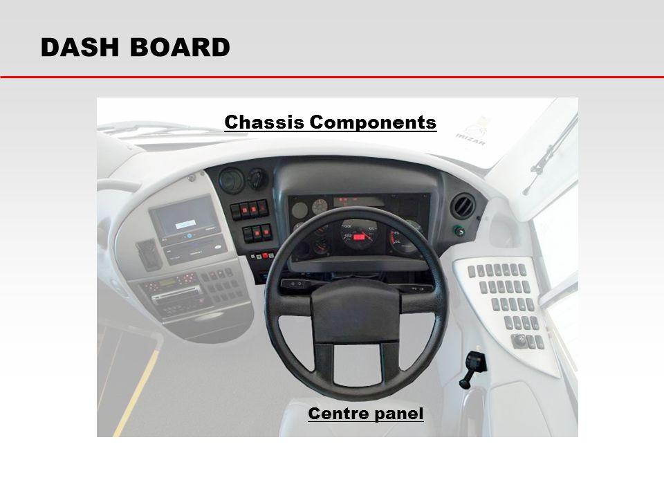 Chassis Components Centre panel DASH BOARD