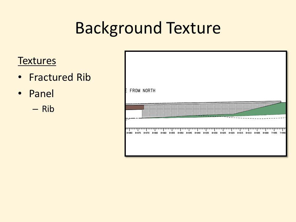 Textures Fractured Rib Panel – Rib