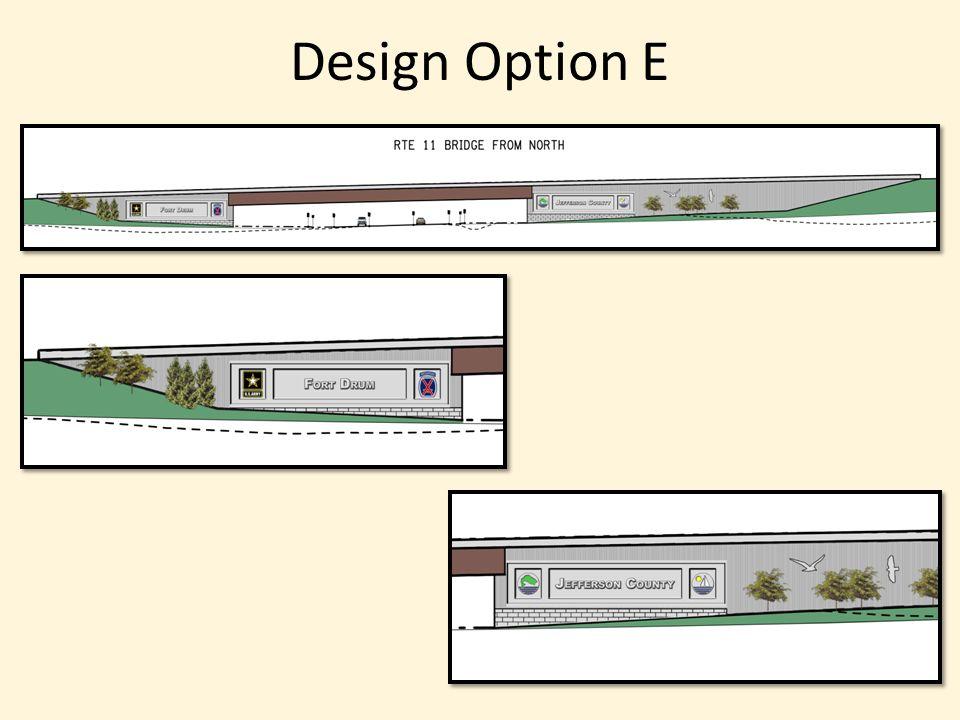 Design Option E
