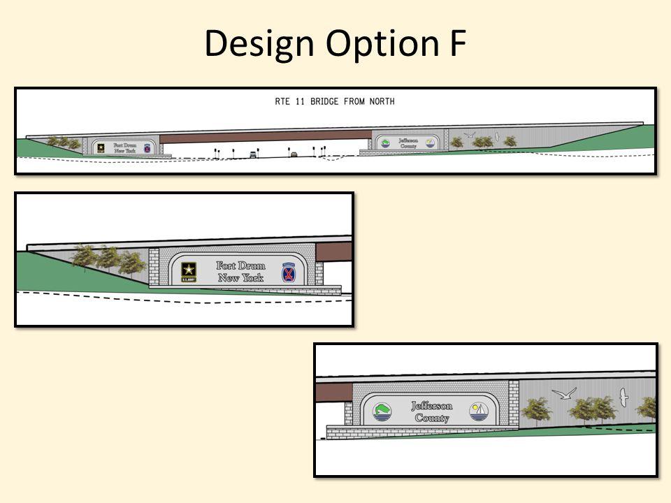 Design Option F