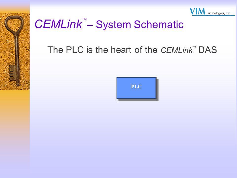 CEMLink – System Controllers Allen Bradley –Control Logix –Compact Logix –SLC Series 5/04 –PLC 5 Series GE FANUC –90-30 Series –90-70 Series Modicon –Quantum Series –Compact Series