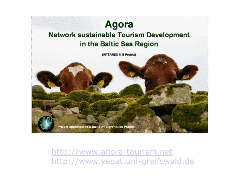 http://www.agora-tourism.net http://www.yepat.uni-greifswald.de