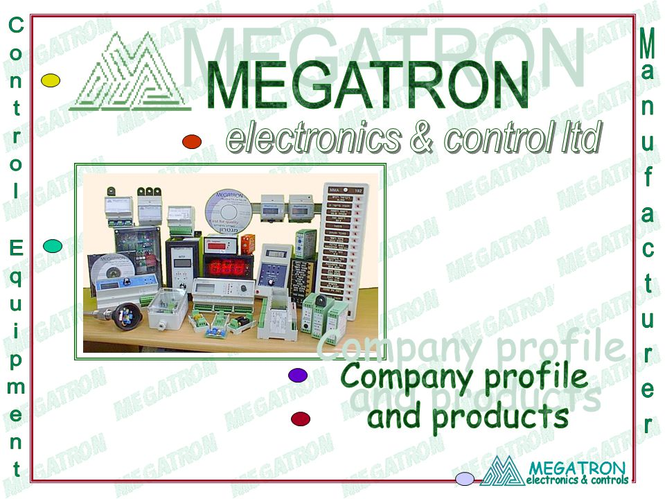 MEGATRON Protection units - Temperature Protection unit (against overheating electrical motors).