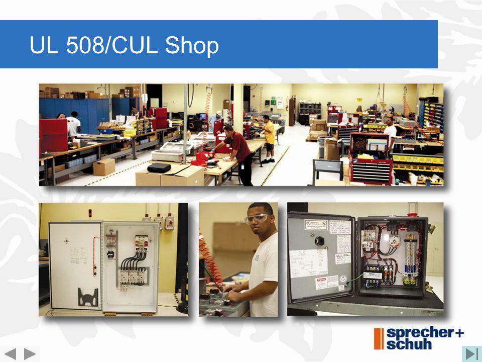 UL 508/CUL Shop
