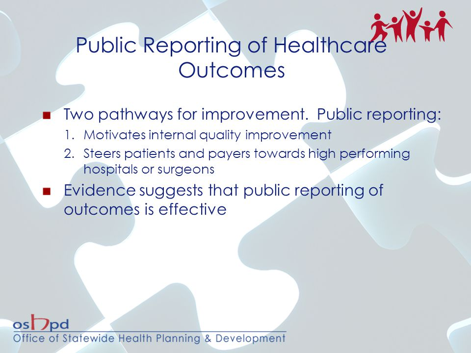 Audit Sample Preliminary hospital and surgeon outliers Near hospital and surgeon outliers Hospitals with probable over-reporting or under- reporting of risk factors Hospitals from a random pool Number of records proportional to hospital size All deaths and highest-risk patients Blinded on-site audits Detailed audit results provided to hospitals to improve coding Audit data replaces submitted data Hospital Medical Chart Audits