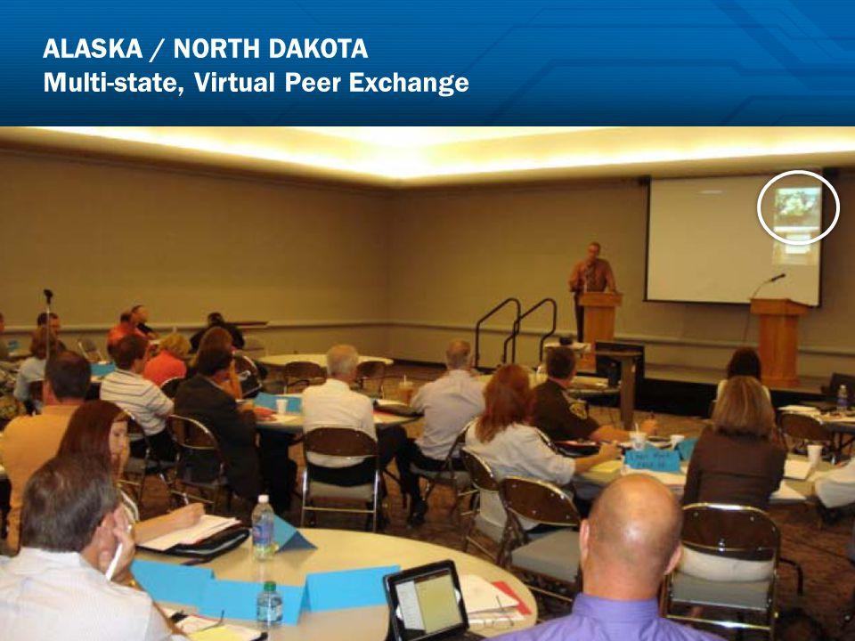 ALASKA / NORTH DAKOTA Multi-state, Virtual Peer Exchange 19