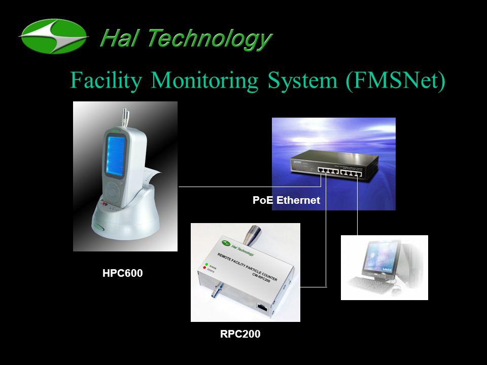 Facility Monitoring System (FMSNet) PoE Ethernet HPC600 RPC200