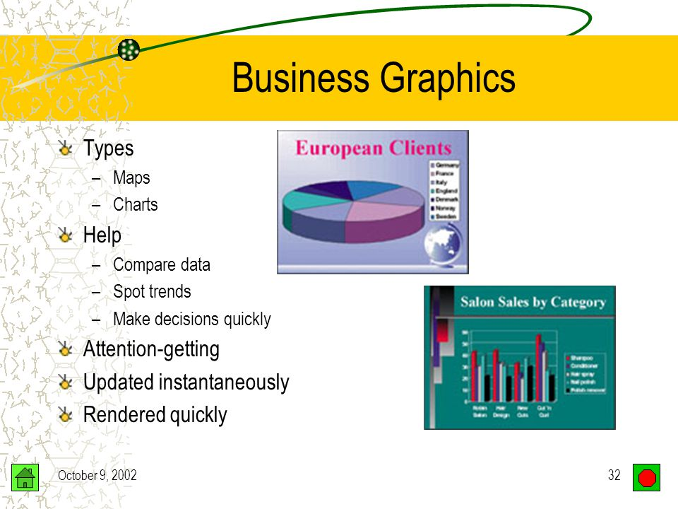 October 9, 200231 Computer Graphics Business Education Science Sports Computer art Entertainment