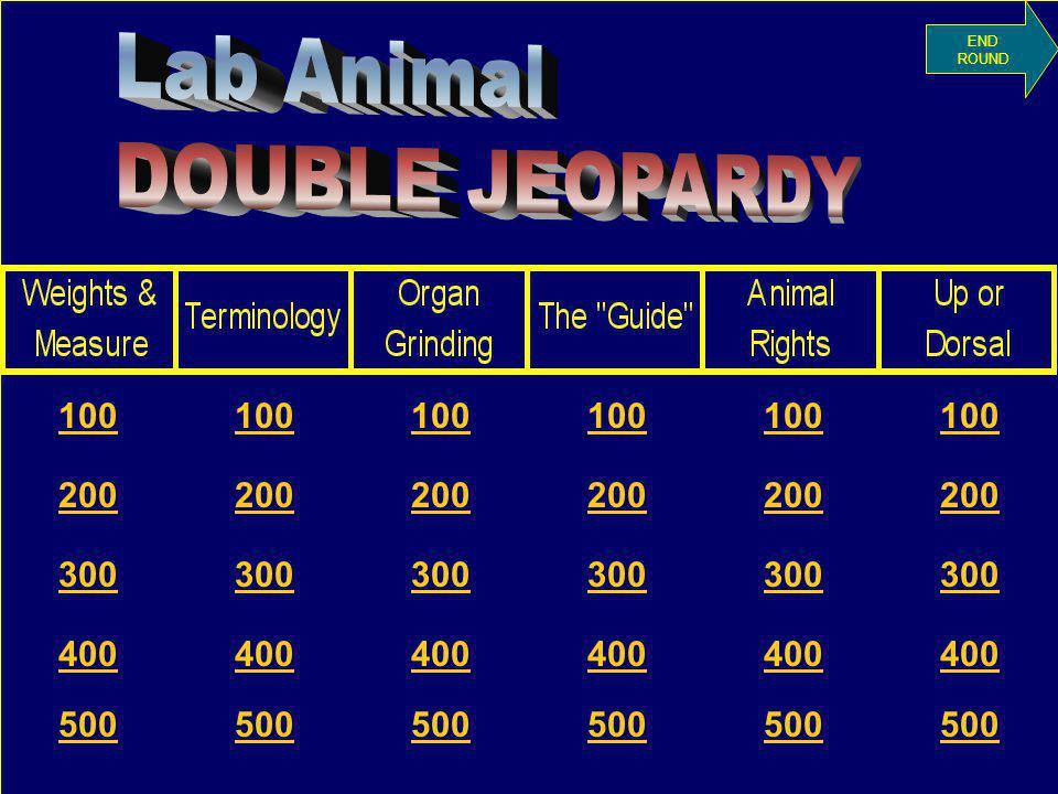 Organ Grinding for $100 The type of animal that has a diet primarily of roughage What is an Herbivore?