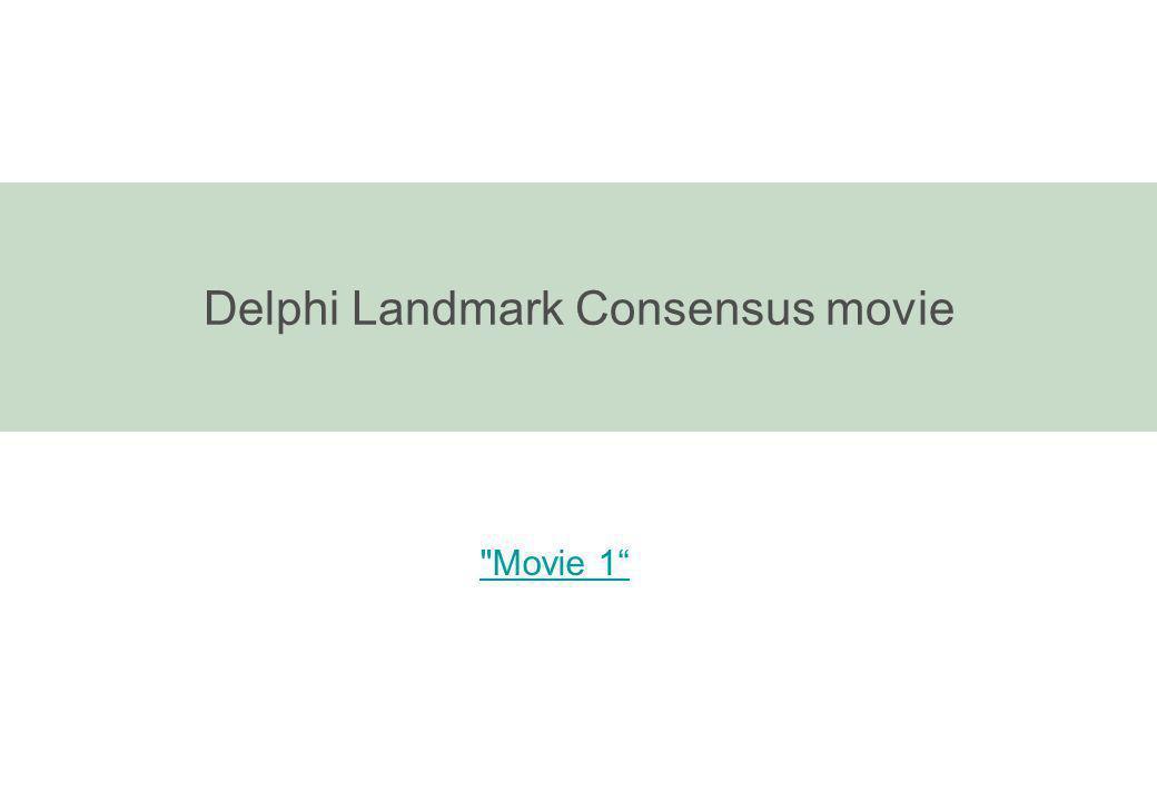 Delphi Landmark Consensus movie