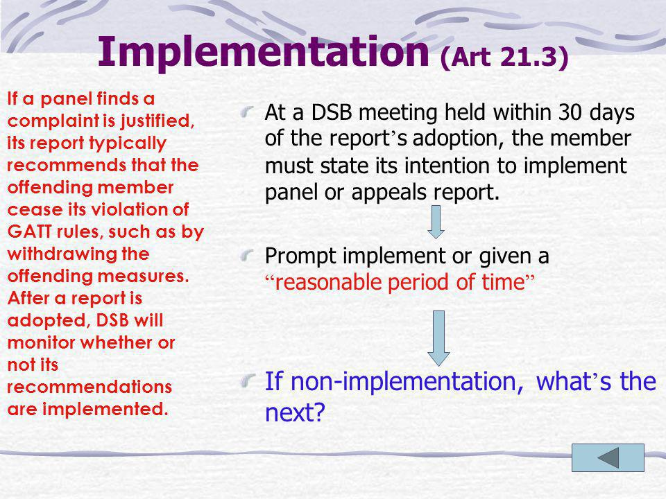 DUS 21 Implementation (