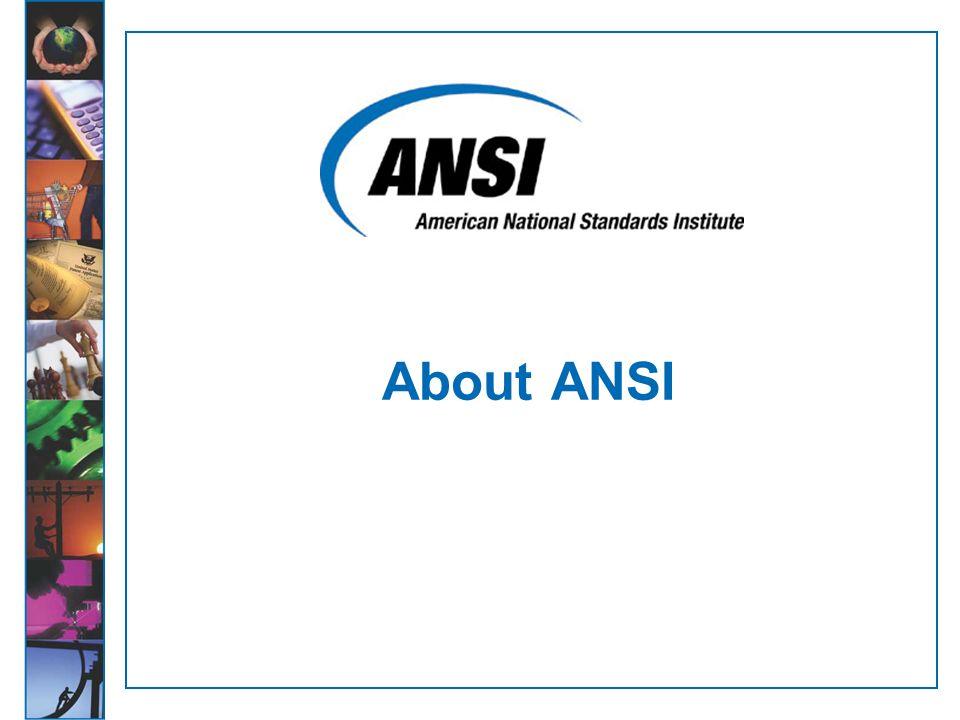 About ANSI