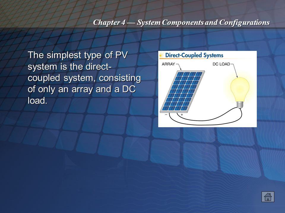 Chapter 4 System Components and Configurations Fuel cells use hydrogen and oxygen in a process that transfers electrons from hydrogen to an anode and from a cathode to oxygen.