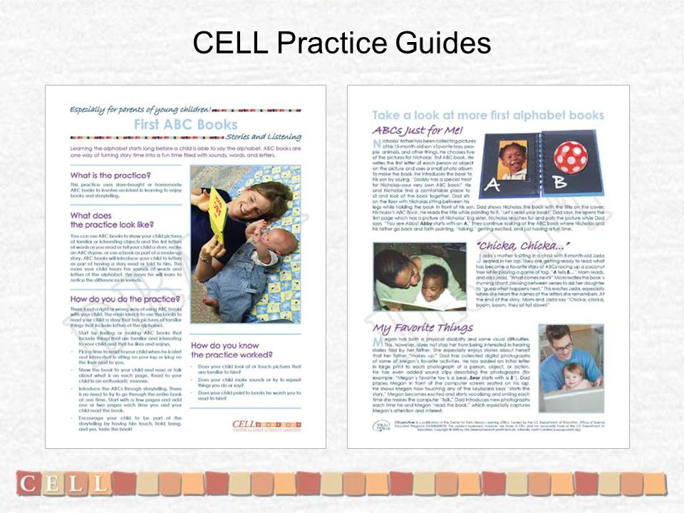 CELL Practice Guides