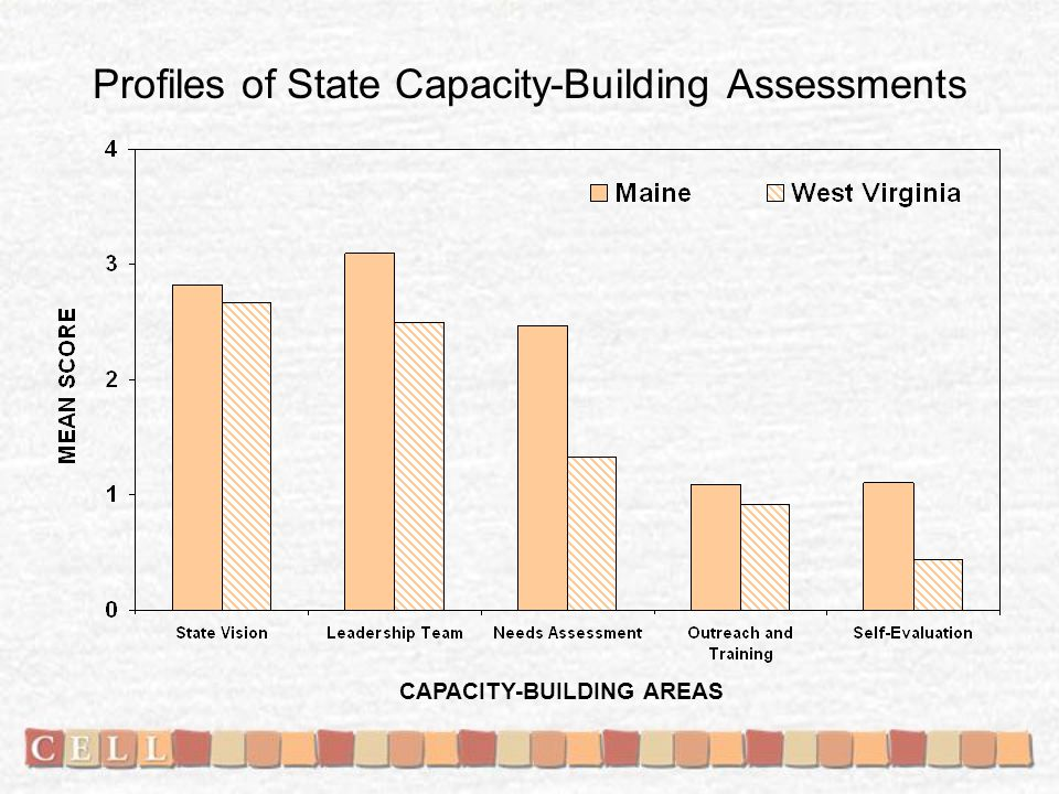 Profiles of State Capacity-Building Assessments CAPACITY-BUILDING AREAS