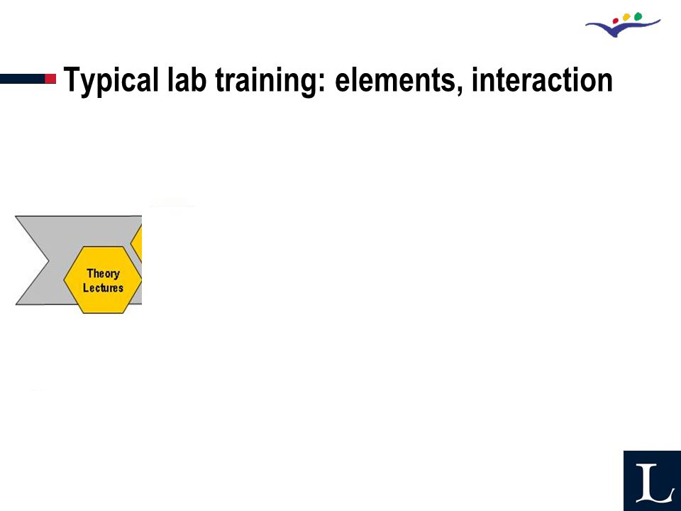 Typical lab training: elements, interaction