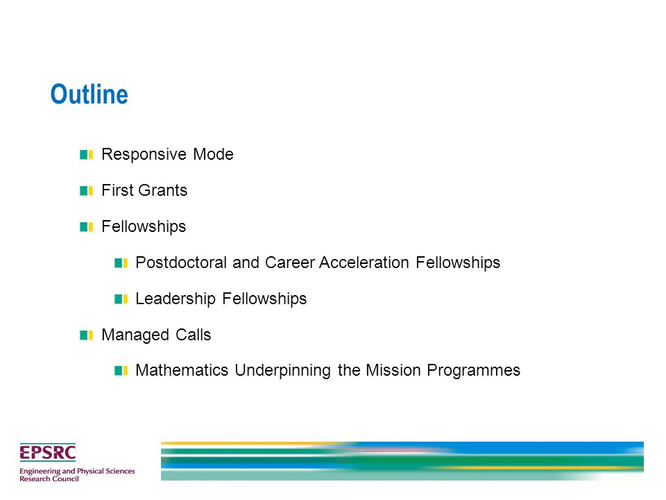 What are the Mission Programmes.