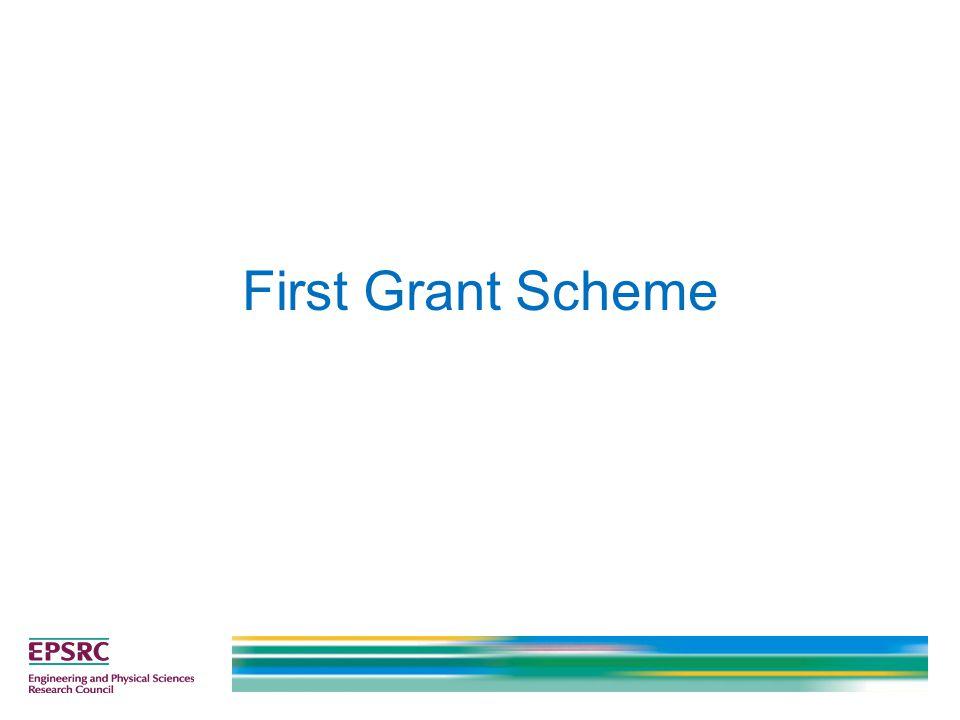 First Grant Scheme