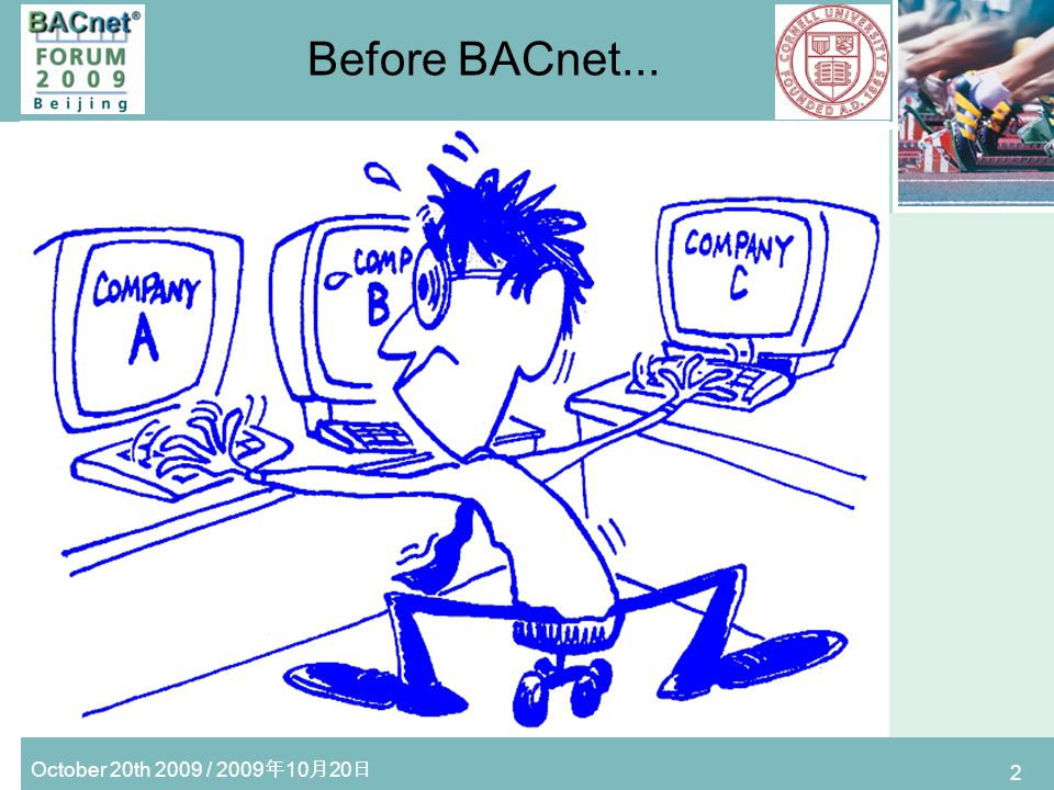 October 20th 2009 / 2009 10 20 3 After BACnet...