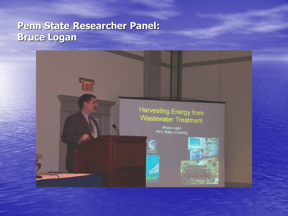 Penn State Researcher Panel: Bruce Logan