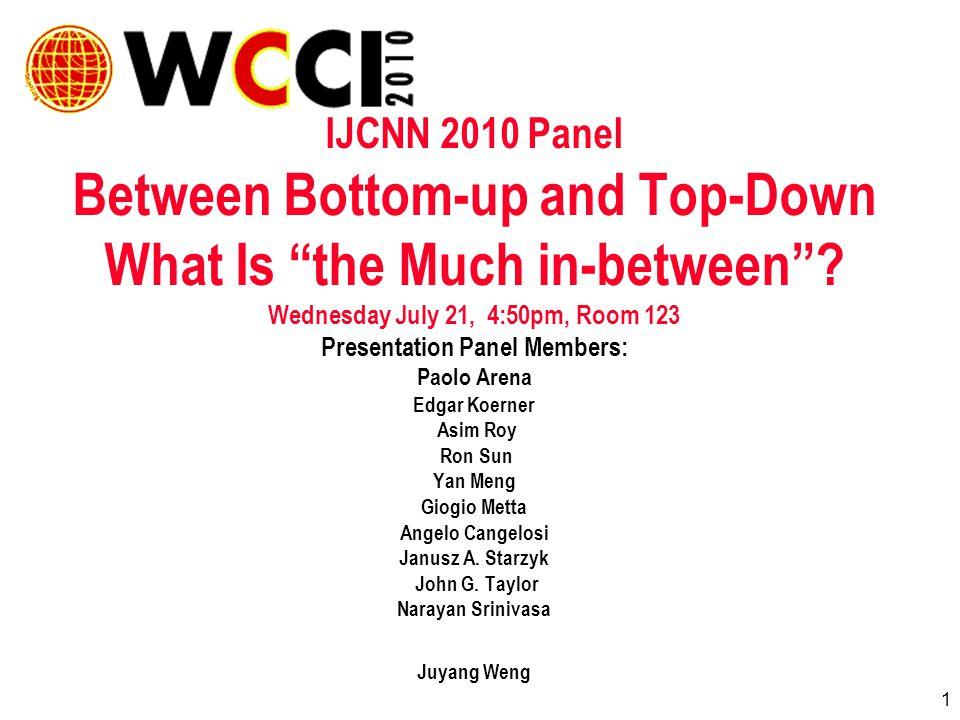 42 What is Between Top & Bottom in the Brain.John G.