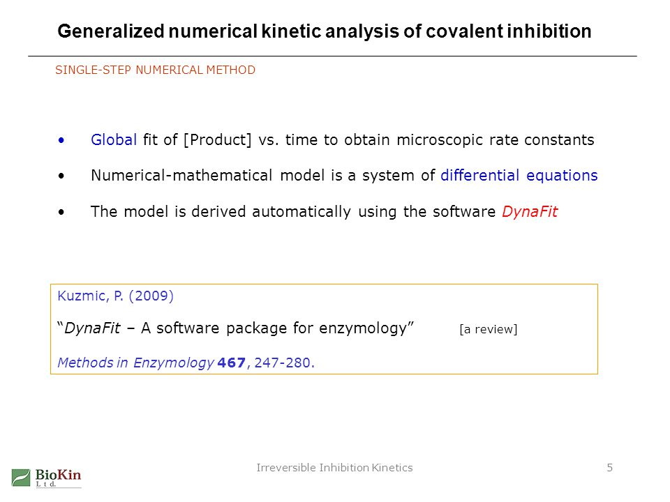 Irreversible Inhibition Kinetics36 Acknowledgments Brion Murray – Pfizer Leader on the PNAS paper, and in other ways Art Wittwer – Confluence Technologies (formerly Pfizer) PK/PD initial scripts (and many other ideas) Phillip Schwartz– Takeda (formerly Pfizer) Data collection for EGFR inhibitors Questions .