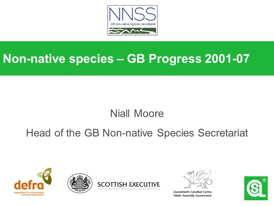 Are invasive species amongst the big issues.