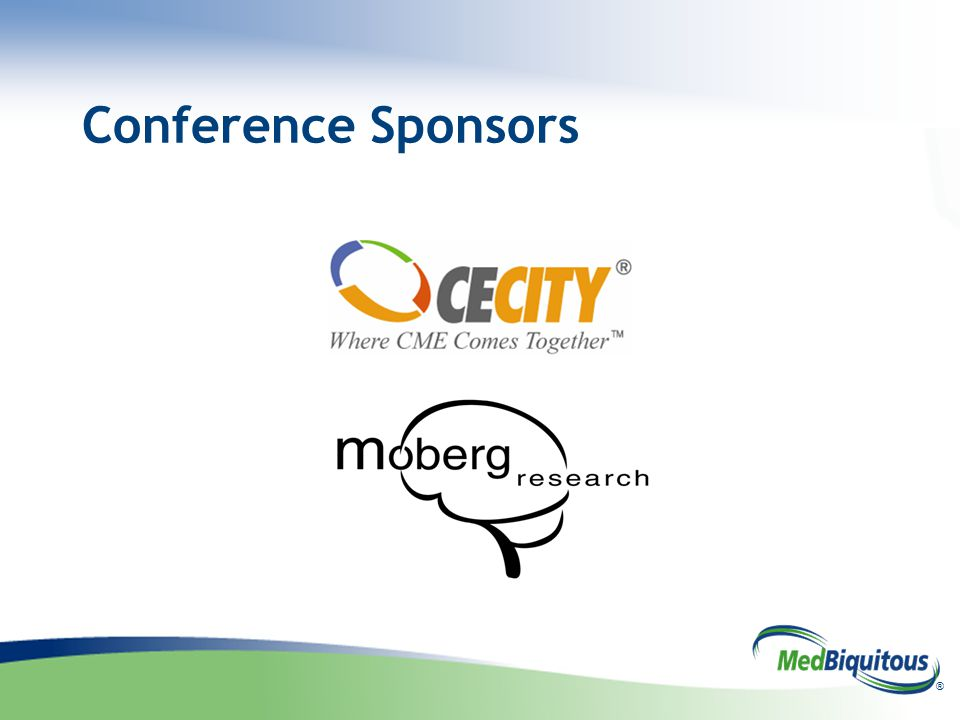 ® Conference Sponsors