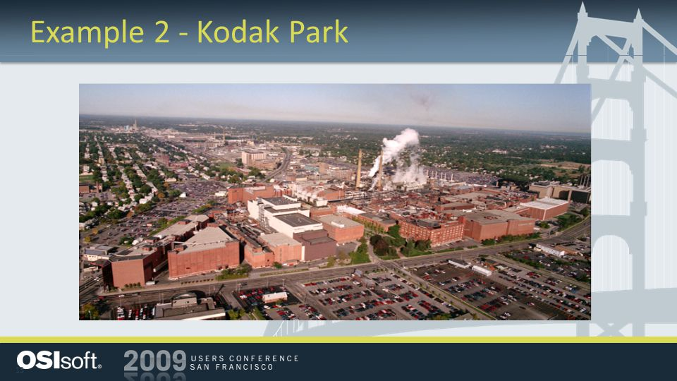 13 Example 2 - Kodak Park