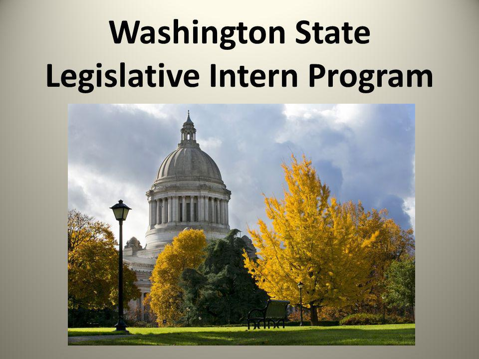 Washington State Legislative Intern Program