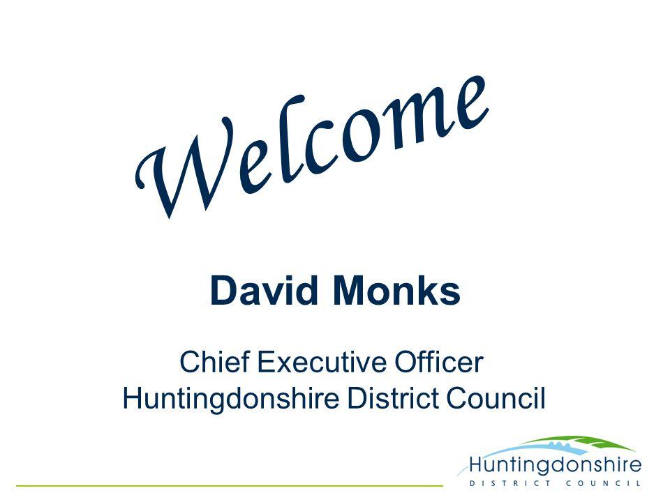 Councillor Ian Bates Leader of Huntingdonshire District Council