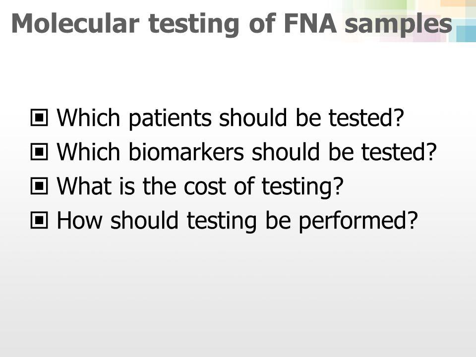 Single marker test vs Multimarker panels KoreaWestern PTC Prevalence 95% 80-90% BRAF (+) rate >80% of PTC 30-50% of PTC Molecular testBRAF BRAF, RAS, RET/PTC, PAX8- PPARγ