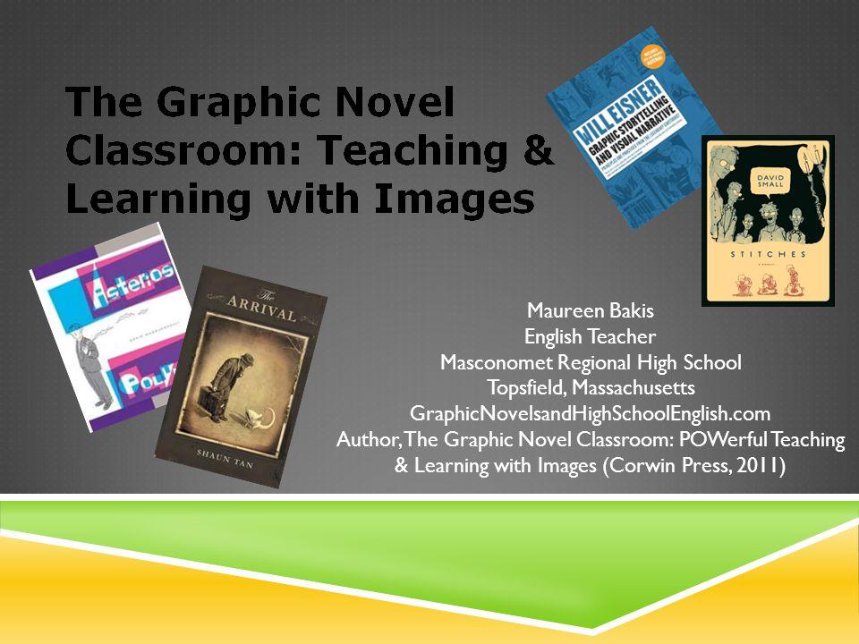 TEACHING GENRE WITH COMICS (READING & COMPOSING MEMOIR) Read Persepolis & Maus as model memoirs in comics medium to understand the genre.