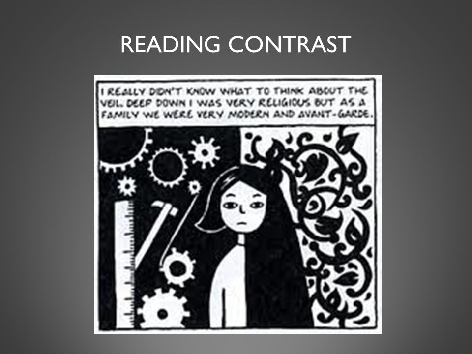 READING CONTRAST
