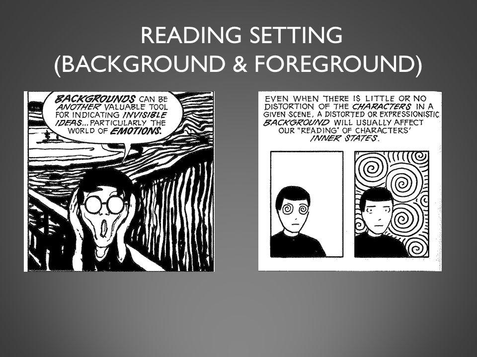 READING SETTING (BACKGROUND & FOREGROUND)